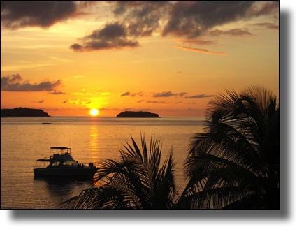 Sunset, Les Saintes, Guadeloupe, French West Indies, French Caribbean International